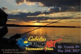 cabelas king kat tournament, riverfront
