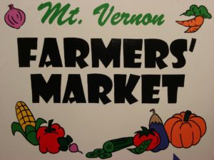 Mount Vernon Farmer's Market 7/19
