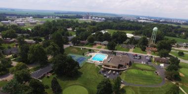 Mount Vernon Indiana Overhead