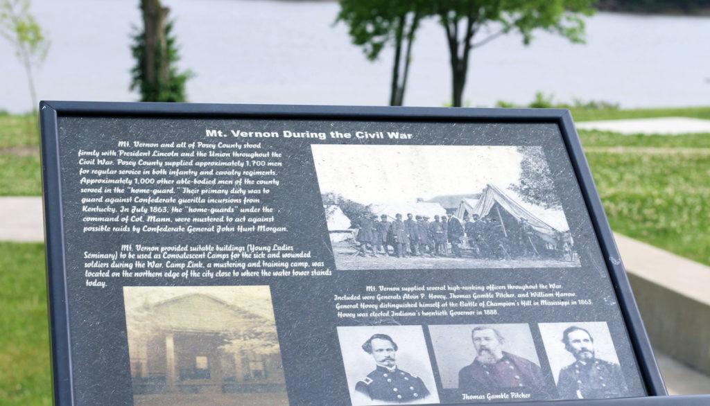civil war generals, mt vernon, mount vernon, indiana